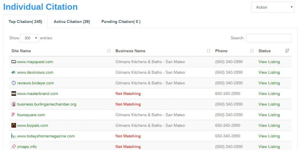 Citation Audit Gilmans Kitchens Baths San Mateo 1 1024x515 1